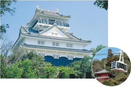 Gifu Castle and Mt.Kinka Ropeway