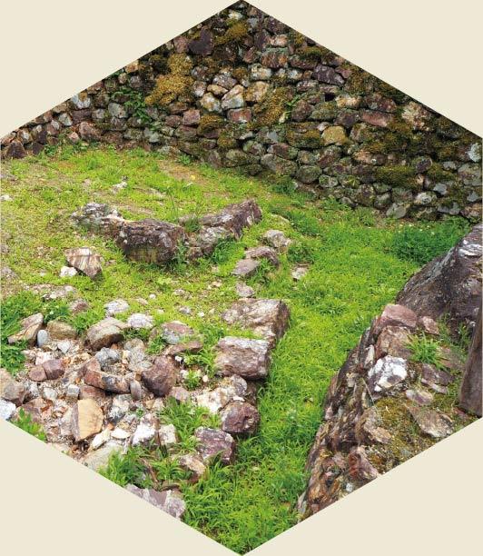 道三時代の石垣