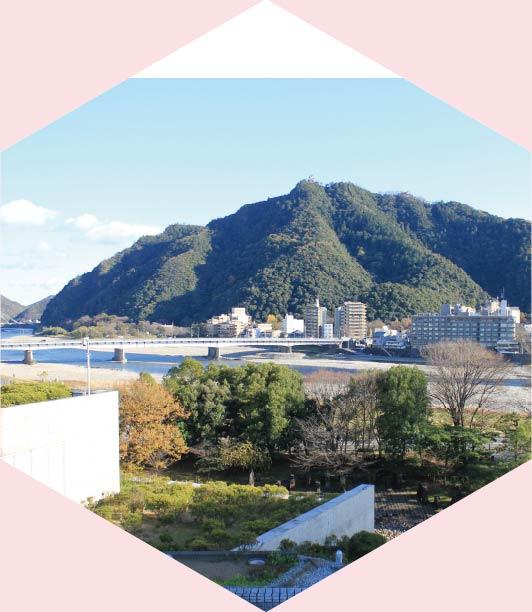 長良川国際会議場 屋上庭園
